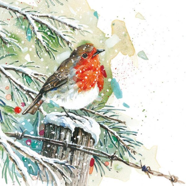 Ling Design Winter Robins 2
