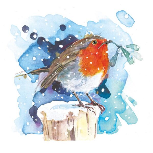 Ling Design Winter Robins 3
