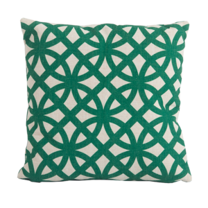 Link Green Square Scatter Cushion