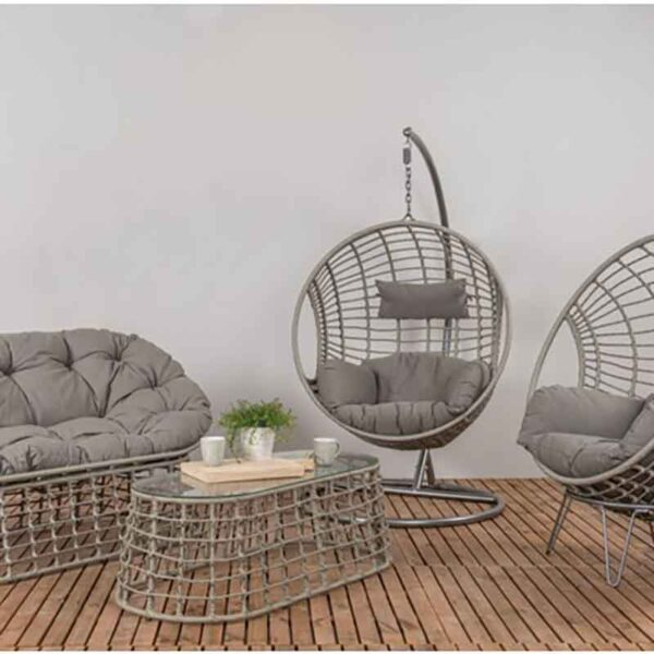 London Collection featuring the Single Cocoon Hanging Chair