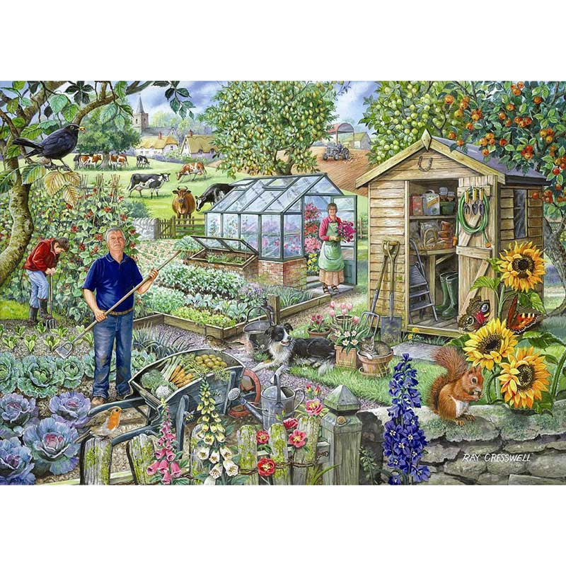 House of Puzzles 500 Piece Puzzle