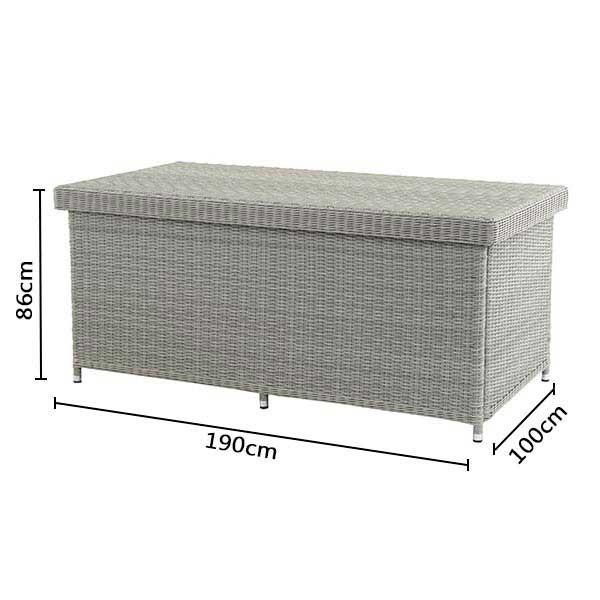 Bramblecrest Monterey Large Cushion / Storage Box Dimensions