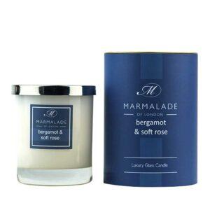 Marmalade Bergamot & Soft Rose Luxury Glass Candle