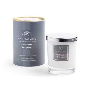 Marmalade Cashmere & Cocoa Luxury Glass Candle