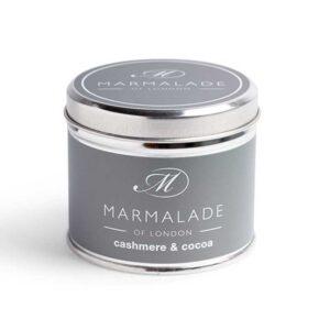 Marmalade Cashmere & Cocoa Tin Candle
