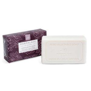 Marmalade Cassis & White Cedar Vegetable Soap