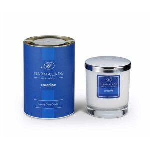 Marmalade Coastline Luxury Glass Candle