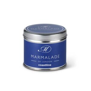 Marmalade Coastline Tin Candle