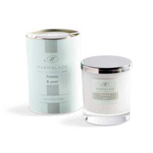 Marmalade Freesia & Pear Luxury Glass Candle