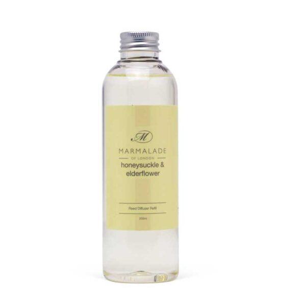 Marmalade Honeysuckle & Elderflower Reed Diffuser Refill (200ml)