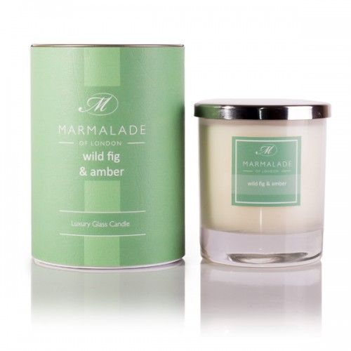 Marmalade Luxury Glass Candle - Wild Fig & Amber