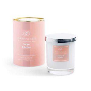 Marmalade Mango & Lychee Luxury Glass Candle