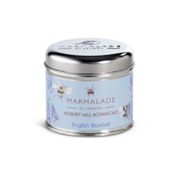 Marmalade Mosney Mill English Bluebell Medium Tin Candle