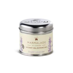 Marmalade Mosney Mill English Lavender Medium Tin Candle