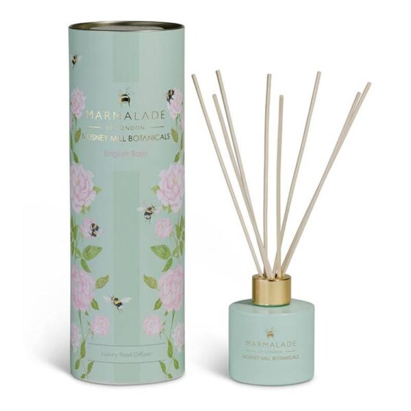 Marmalade Mosney Mill English Rose Reed Diffuser (100ml)
