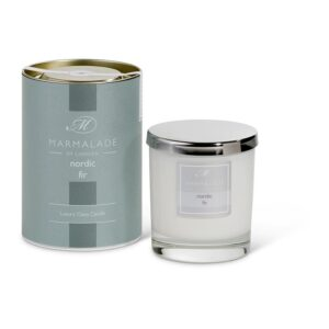 Marmalade Nordic Fir Luxury Glass Candle