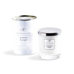 Marmalade Prosecco & Juniper Luxury Glass Candle