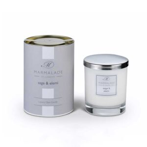 Marmalade Sage & Elemi Luxury Glass Candle