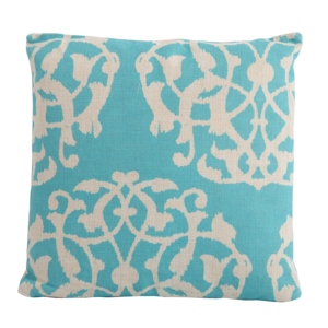 Marrakesh Aqua Square Scatter Cushion