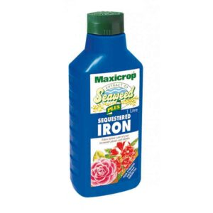 Maxicrop Extract of Seaweed Plus Sequestered Iron (1 litre)