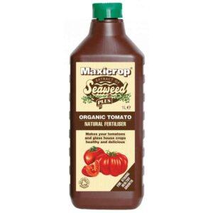 Maxicrop Seaweed Plus Organic Lawn Fertiliser (1 litre)