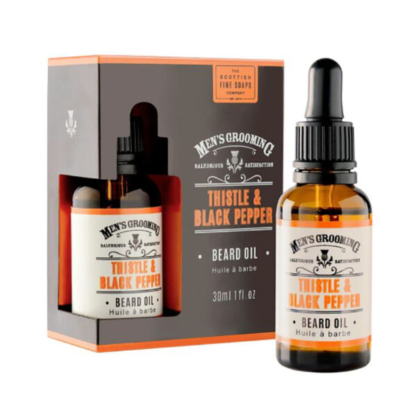 Men's Grooming Thistle & Black Pepper Beard Oil