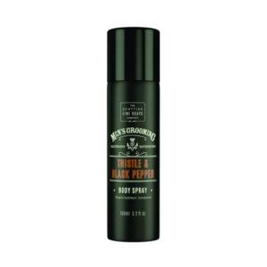 Men's Grooming Thistle & Black Pepper Body Spray