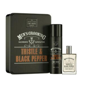 Men's Grooming Thistle & Black Pepper Duo Gift Set