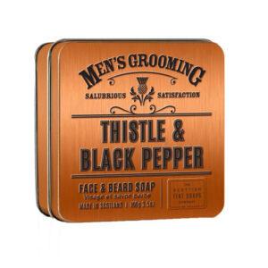 Men's Grooming Thistle & Black Pepper Face & Beard Soap