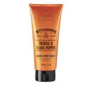 Men's Grooming Thistle & Black Pepper Hair & Body Wash