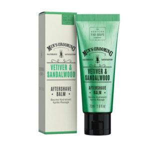 Men's Grooming Vetiver & Sandalwood Aftershave Balm