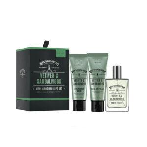 Men's Grooming Vetiver & Sandalwood Gift Set