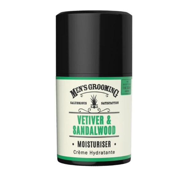 Men's Grooming Vetiver & Sandalwood Moisturiser