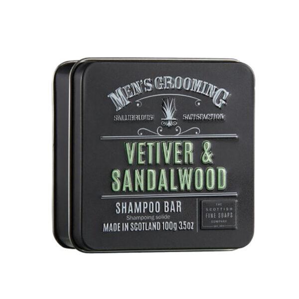 Men's Grooming Vetiver & Sandalwood Shampoo Bar