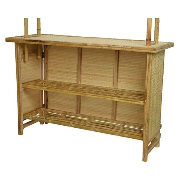Mini Bamboo Bar Rear View