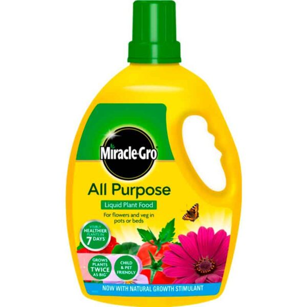 Miracle-Gro All Purpose Concentrated Liquid Plant Food 2.5 litres