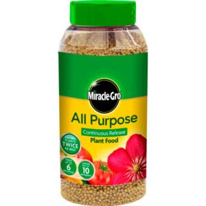 Miracle-Gro All Purpose Continuous Release Plant Food 1kg + 30% Free