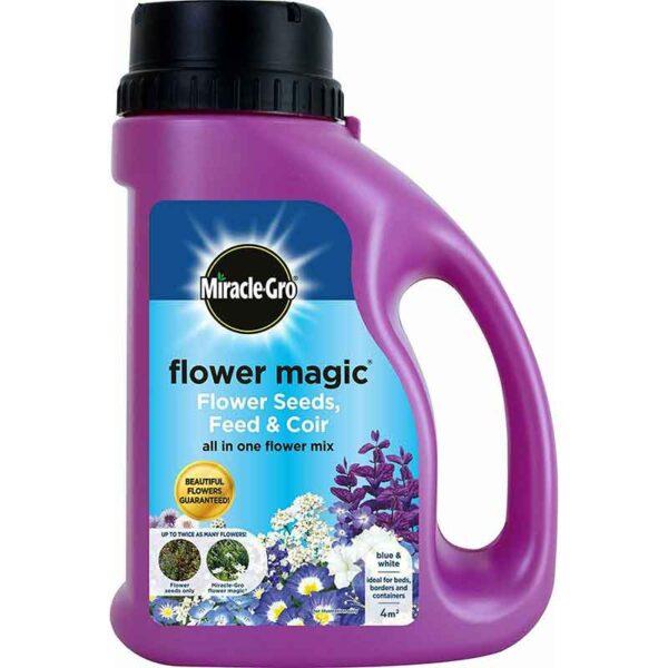 Miracle-Gro Flower Magic Flower Seeds, Feed & Coir (1kg)