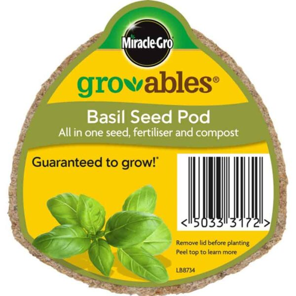 Miracle-Gro Groables Basil Seed Pod