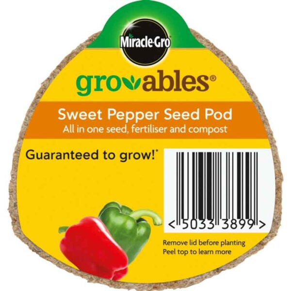 Miracle-Gro Groables Sweet Pepper Seed Pod