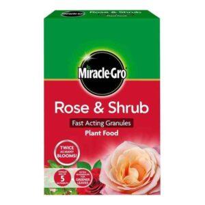 Miracle-Gro Rose & Shrub Fast Acting Granules Plant Food (3kg)