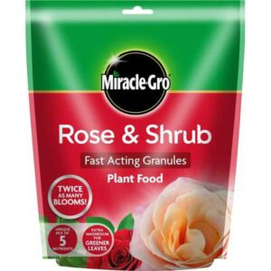 Miracle-Gro Rose Fast Acting Granules Plant Food (750g)