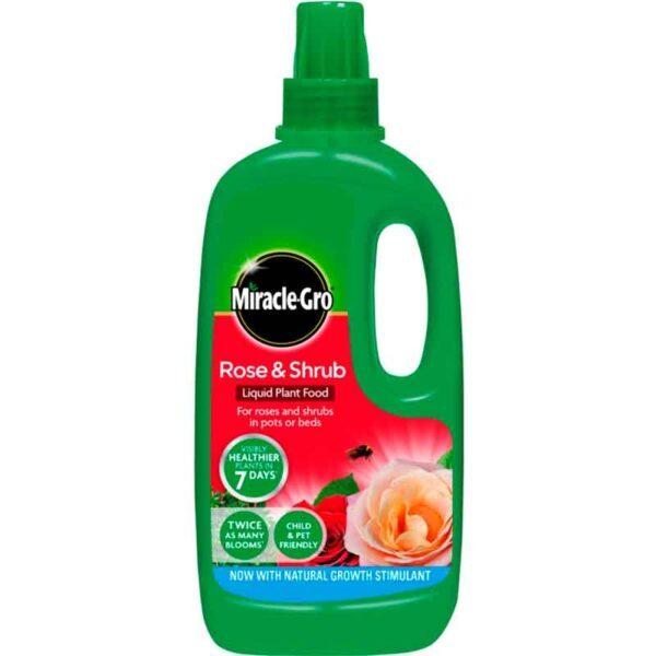 Miracle-Gro Rose & Shrub Food Liquid Plant Food 1 litre