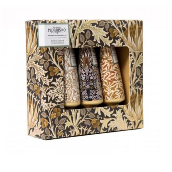 Morris & Co. Iris & Cardamom Hand Cream Collection (3 x 30ml) 3