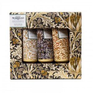Morris & Co. Iris & Cardamom Hand Cream Collection (3 x 30ml)