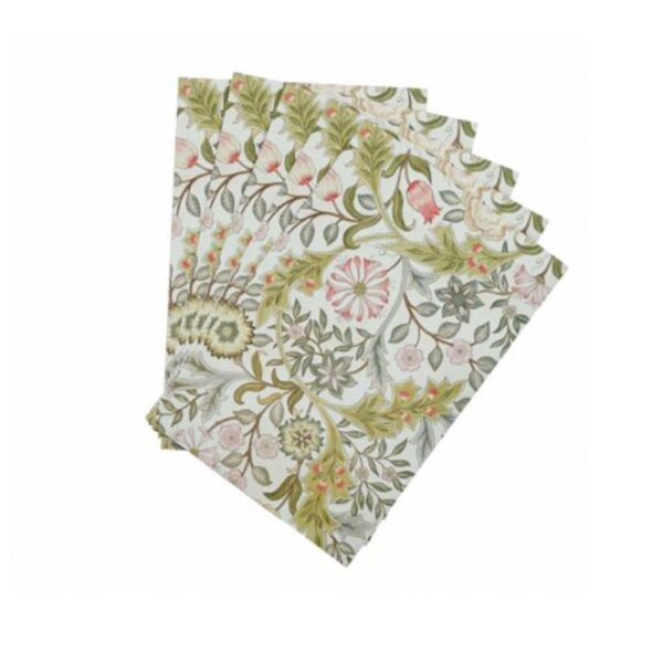 Morris & Co. Jasmine & Green Tea Scented Drawer Liners (5 Sheets) 1