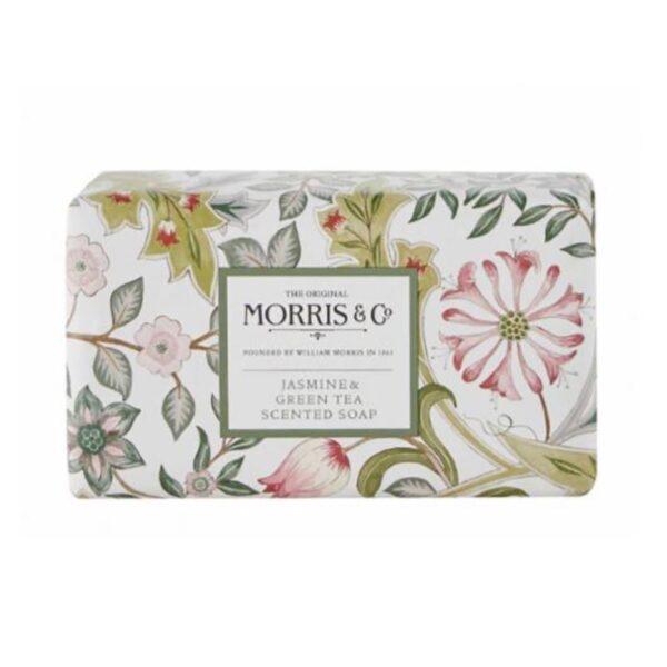 Morris & Co. Jasmine & Green Tea Scented Soap (230g)
