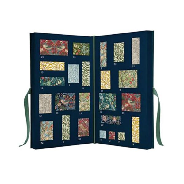 Morris & Co. Mixed Blue Forest Advent Calendar 1