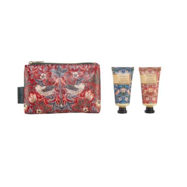 Morris & Co. Strawberry Thief Hand Care Bag (2 x 30ml) 2