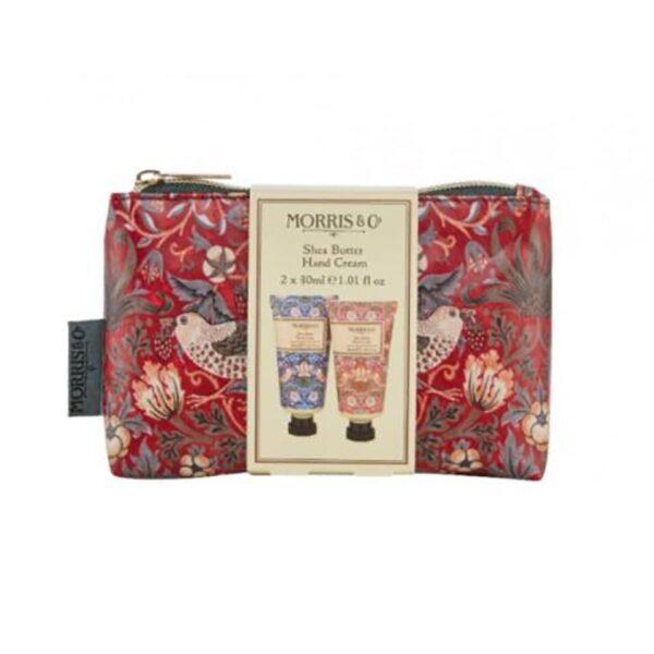 Morris & Co. Strawberry Thief Hand Care Bag (2 x 30ml)